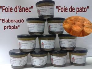 Foie de canard- ànec-pato
