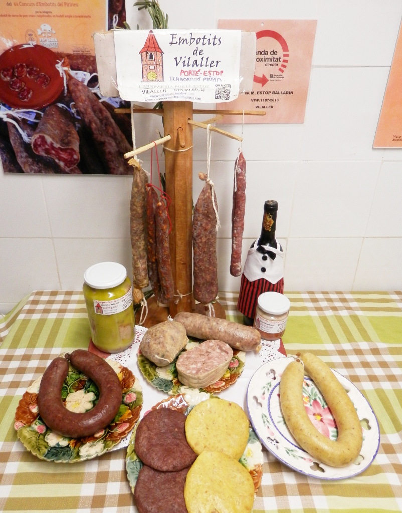 carnisseria-porte-estop-vilaller-pirineu-pirineo-ribagorça-bodegon-proximitat-embotits-tradicionals