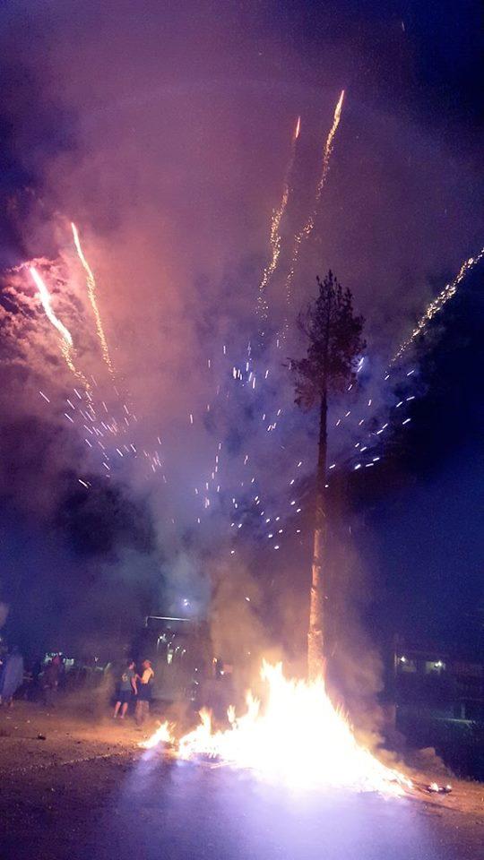 focs artificials falles de Vilaller 2015